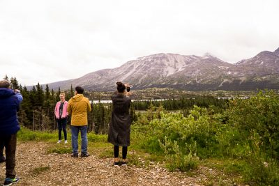 Free Stock Photos for Blogs - Tourists in the Yukon Mountains