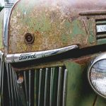 Free Stock Photos for Blogs - Vintage Ford Car