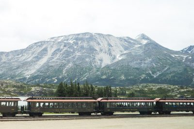 Free Stock Photos for Blogs - Train in the Yukon Mountains 2