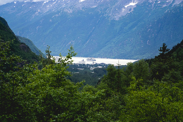 Free Stock Photos for Blogs - Cruise Ships at Port in Alaska